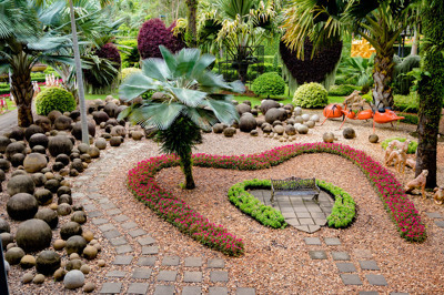 สวนสวยรูปหัวใจ