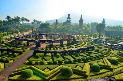 美丽的植物园