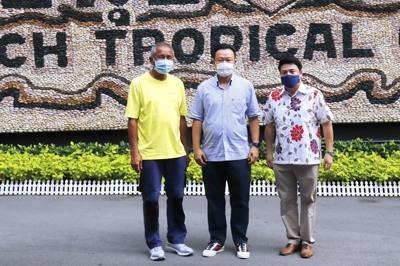 ผู้ว่าการท่องเที่ยวแห่งประเทศไทย เยี่ยมชมสวนนงนุชพัทยา เตรียมความพร้อมต้อนรับนักท่องเที่ยว