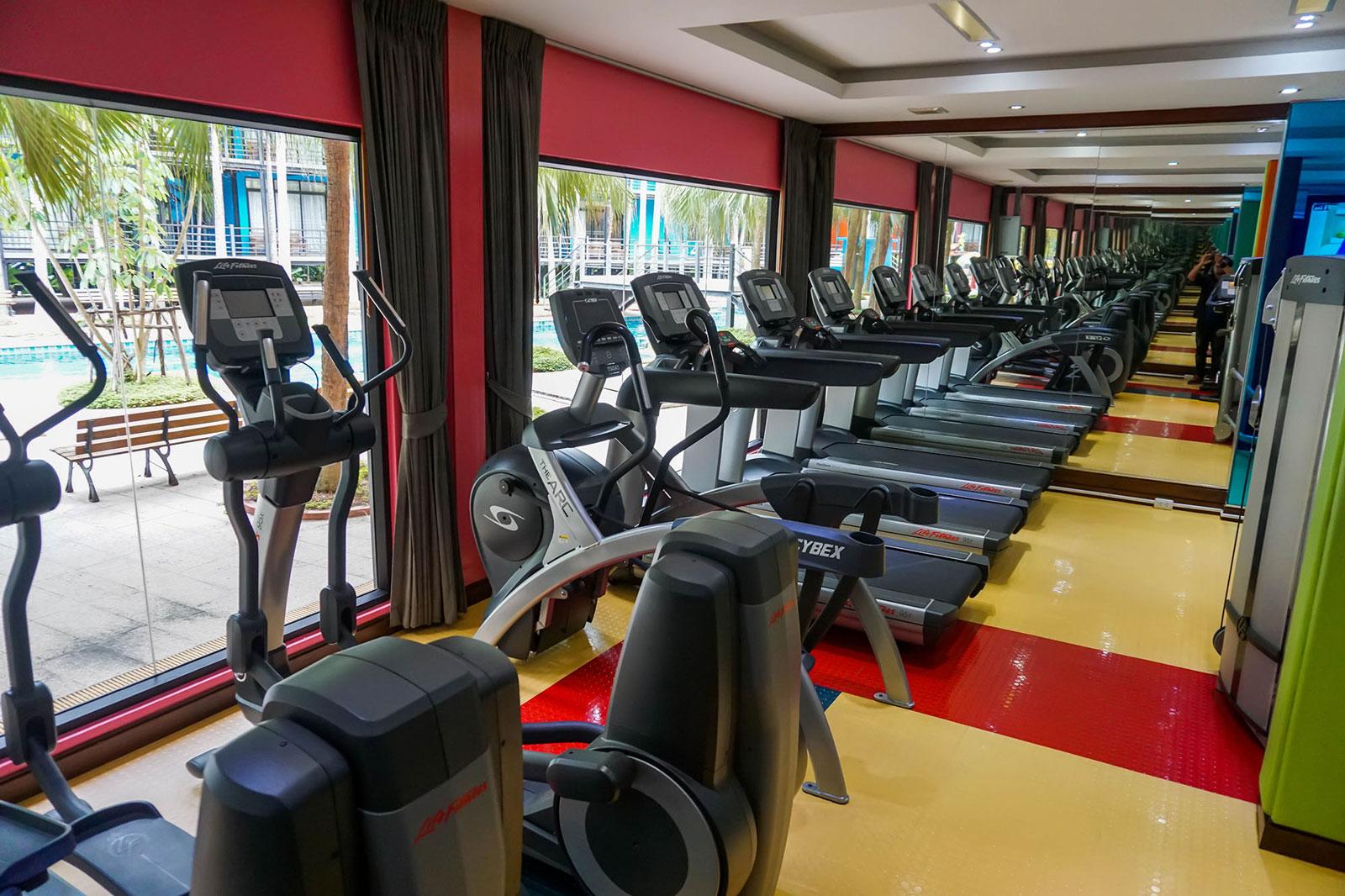 ห้องออกกำลังกาย