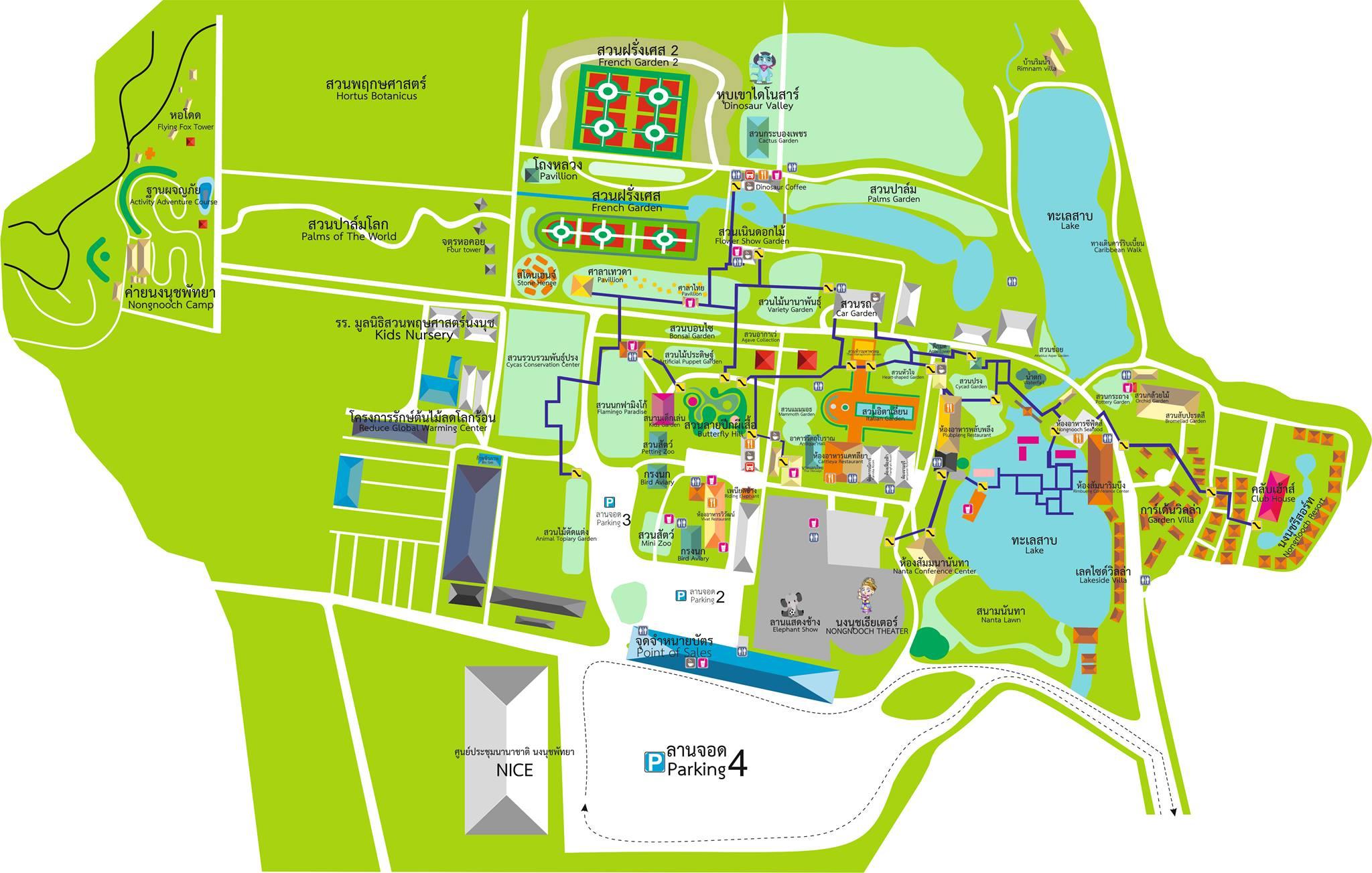 map nongnooch